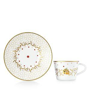 Bernardaud Noel Blanc Tea Cup  - No Color