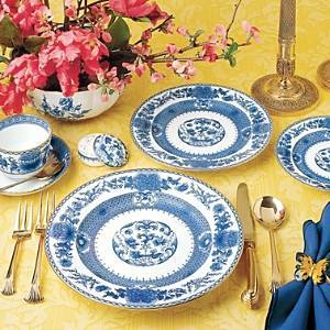 Mottahedeh Imperial Blue Dinner Plate  - No Color