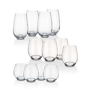 Villeroy & Boch Entree Stemless Wine 12-Piece Set  - No Color