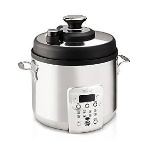 All-Clad Electric Pressure Cooker with Nonstick Ceramic Pot  - Silver - Size: Model CZ720051