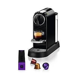 Nespresso CitiZ Espresso Machine by De'Longhi  - Black - Size: Model EN167B