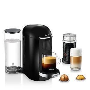 Nespresso by Breville Vertuo Plus Deluxe Bundle  - Black - Size: Model BNV450BLK1BUC1