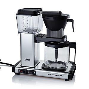 Technivorm Moccamaster Kbg Coffee Maker  - Polished Silver - Size: Model 59616