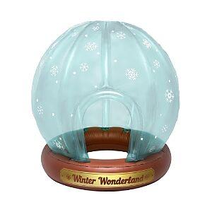 Big Mouth Inc. Snow Globe Winter Fort  - Multi