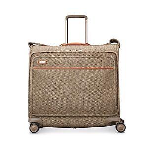 Hartmann Legend Voyager Spinner Garment Bag  - Natural Tweed
