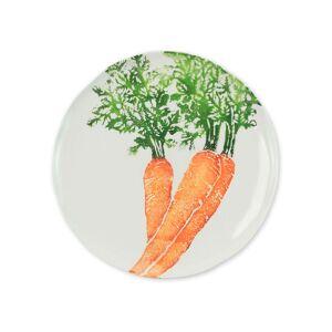 Vietri Spring Vegetables Carrot Salad Plate