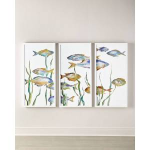 Tropical Paradise Giclees, Set of 3