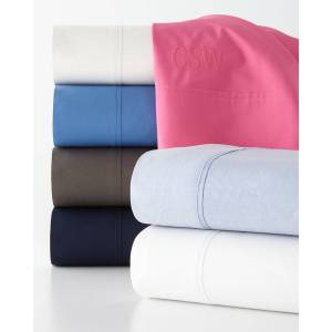 Ralph Lauren California King 464 Thread Count Percale Fitted Sheet