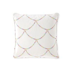 "Cloth & Company x Gray Malin Bunting Scallop Pillow, 20"""