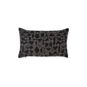 Elaine Smith Kanabar Lumber Ebony Sunbrella Pillow