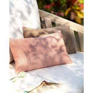Elaine Smith Kanga Lumbar Sunbrella Pillow