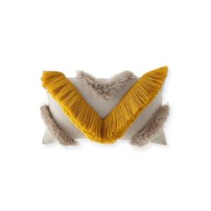 Elaine Smith Namotu Sunbrella Fringe Pillow