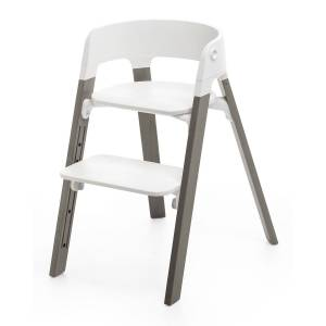 Stokke Steps Complete Chair, Light Gray