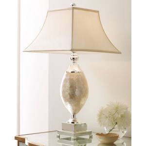 Pearl Rochelle Mother-of-Pearl Lamp