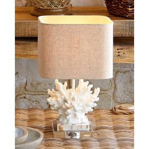 "Couture Lamps White ""Coral"" Lamp"