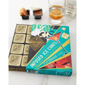 Herb & Lou's Infused Cubes The Cecile Infused Ice Cubes