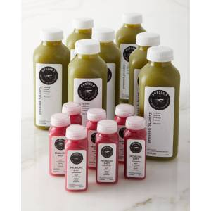 Pressed Juicery 7 Day Celery Juice Bundle and Shots