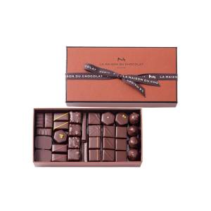 La Maison Du Chocolat 63-Piece Coffret Maison Dark Chocolate Box