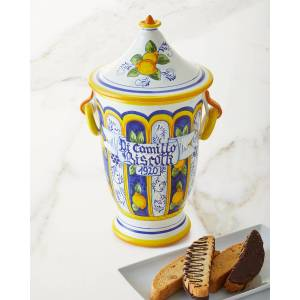 Dicamillo Baking Co Il Barattolo Margent Biscotti Jar, 13 oz.