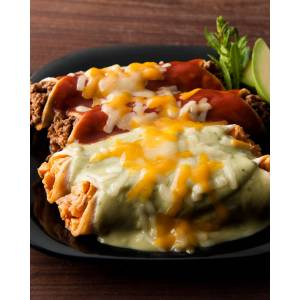12 Enchiladas, For 4-6 People
