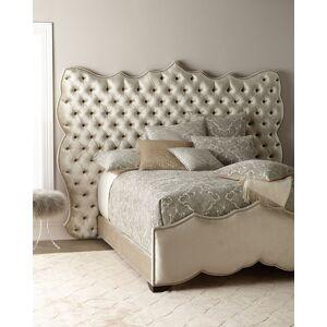 Haute House Samara Tufted Queen Bed