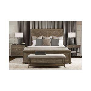 Bernhardt Rustic Patina Fancy Panel Bed - Queen
