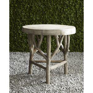 Artemis Faux-Bois Side Table