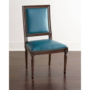 Massoud Ingram Leather Dining Chair, A9