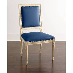 Massoud Ingram Leather Dining Chair, B2