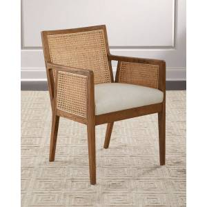 Arlo Cane Dining Arm Chair