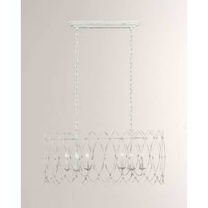C & M by Chapman and Myers Gardner 6-Light Chandelier