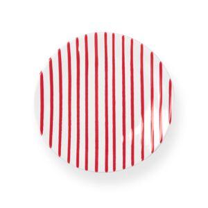 Vietri Striped Salad Plate