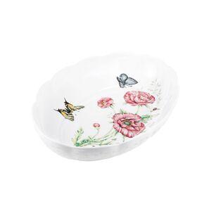 Lenox Butterfly Meadow Scalloped Oval Baker