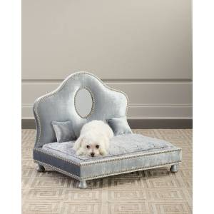 Haute House Lenor Pet Bed with Mirror Trim