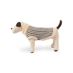 Harry Barker Cabin Stripe Knit Dog Sweater, Large