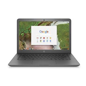"HP 14"" Chromebook with 1.1GHz Intel Celeron N3350 Dual-Core Processor, 4GB RAM, and 16GB Storage (Mfr. Refurb.)"
