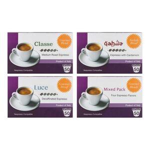 Nespresso Mixpresso Nespresso-Compatible Espresso Capsules (200-Count)