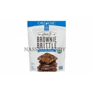 Candy Nassau Candy 984619 5 oz Sheila Gs Organic Brownie Brittle Chocolate & Tosted Co