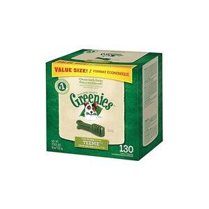 Greenies Dental Chews Teenie Petite Dog Value Tub 36oz. 130ct 12 Pack