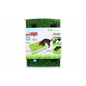 Petsta 716108 Grass Patch Hunting Box Cat Scratcher