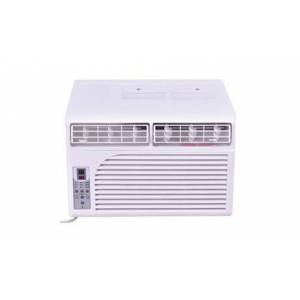 Costway 6K BTU White Compact 115V Window-Mounted Air Conditioner