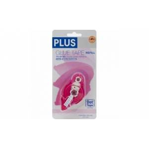 Plus Permanent Honeycomb Glue Tape Refill.33X52.5 For Use In