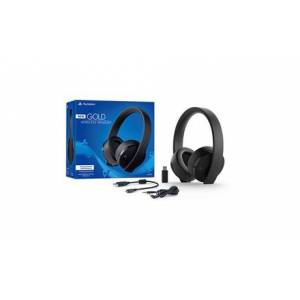 Sony PlayStation 4 Gold Wireless Headset with 7.1 Surround Sound (2018 Version)