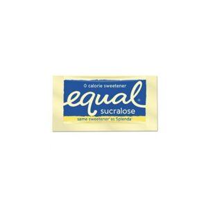 Merisant EQL90084 0.035 oz Packet Equal Zero Calorie Sweetener 500 Per Box