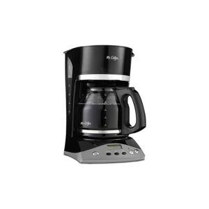 Mr. Coffee SKX23-NP Programmable Coffeemaker, Black, 12-Cup