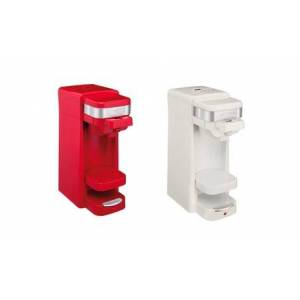 Single Serve Pack or Ground Coffee Maker Red or White