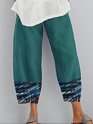Berrylook Fashion printed casual wide-leg pants shop, online shop,