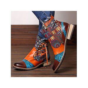 Berrylook Fringed vintage print jacquard boots online, online sale,