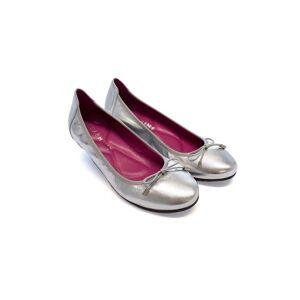 Seraphine Silver Ballet Flats