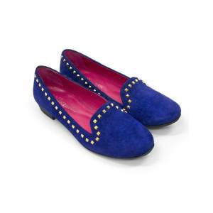 Seraphine ShoeTherapy Blue Suede Loafers